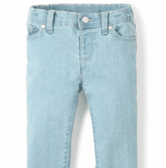 Children's Place Other - Toddler Girl's Snowflake Wash Basic Skinny Jeans